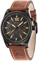 Timberland Men's Brant Brown Leather Strap Watch 45x53mm TBL14642JSB02