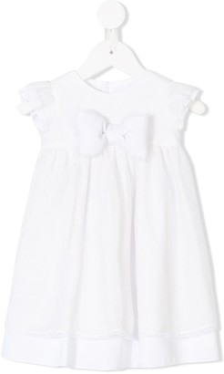 La Stupenderia lace bow flared dress