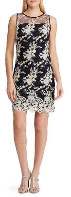 Lauren Ralph Lauren Lace-Embroidery Dress