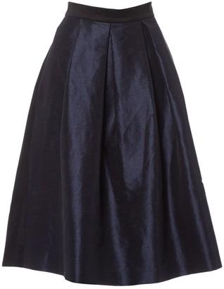 Lulu & Co Navy Polyester Skirts