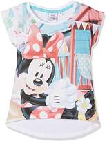 Disney Girl's Minnie Mouse Holidays T-Shirt,(Manufacturer Size: 4 Years)
