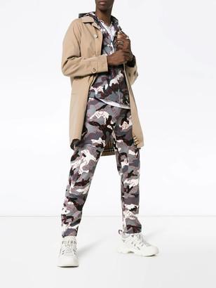 Valentino Vltn Print Camo Pants