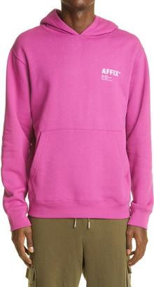 AFFIX Logo Graphic Cotton Hoodie