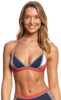 Tommy Hilfiger Strappy Stripes Triangle Crop Bikini Top 8154030