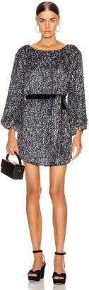 retrofete Grace Dress in Gunmetal Silver Mix | FWRD