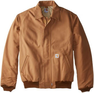 Carhartt Men's Big & Tall Flame Resistant Duck Bomber Jacket