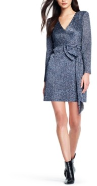 Aidan Mattox Sparkle-Knit Sheath Dress