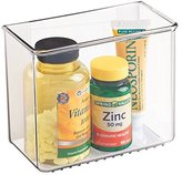MetroDecor mDesign AFFIXX, Peel-and-Stick Adhesive Organizer for Medicine, First Aid, Vitamins