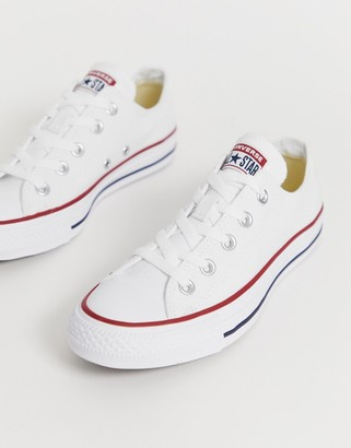 Converse Chuck Taylor Ox white sneakers