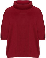 Isolde Roth Plus Size Roll neck merino wool blend sweater