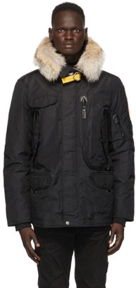 Parajumpers Black Down Right Hand Jacket