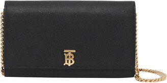 Burberry Hannah Leather Wallet on a Chain