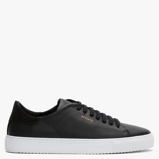 Axel Arigato Men's Clean 90 Black Leather Low Top Trainers