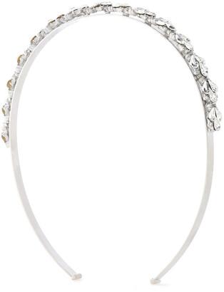 Ben-Amun Silver-tone Crystal Headband