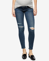 Paige Maternity Distressed Jeans