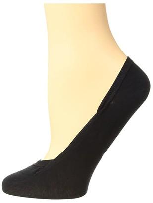 Falke Cotton Step Invisible (Black) Women's Low Cut Socks Shoes