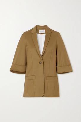 KING & TUCKFIELD Wool-twill Blazer - Light brown