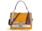 Lilia Shoulder Bag - Beige/Tan/Yellow