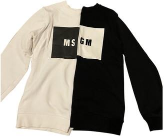MSGM Black Cotton Knitwear
