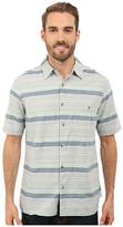 Woolrich Lost Lake Chambray Stripe Shirt - Modern Fit