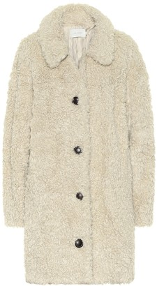 Low Classic Faux-shearling teddy coat