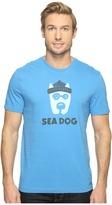 Life is Good Sea Dog Crusher Tee Men's T Shirt