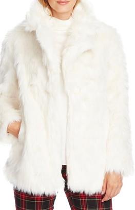 Vince Camuto Shaggy Faux Fur Coat