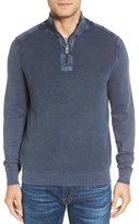 Tommy Bahama Men's 'Coastal Shores' Quarter Zip Sweater