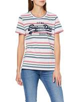 Superdry Women's Vintage Logo Entry Tee T-Shirt