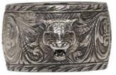 Gucci Silver Feline Ring