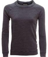 Monrow Burn Out Vintage Raglan Sweatshirt - Women's