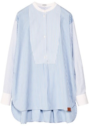 Loewe Cotton Striped Tunic Top