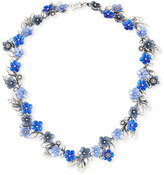 Bottega Veneta Floral Collar Necklace, Blue
