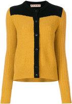 Marni bi-colour slouch cardigan