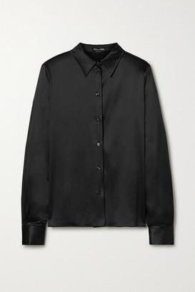 Tom Ford Silk-blend Satin Shirt - Black