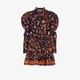 Ulla Johnson Naima floral print mini dress