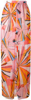 Emilio Pucci printed maxi skirt - women - Silk - 40