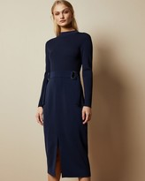 Thumbnail for your product : Ted Baker Knitted Mockable D-ring Dress