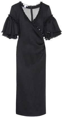 Oscar de la Renta Wrap-style dress