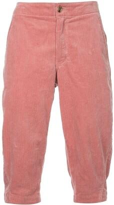 Comme Des Garçons Pre Owned Corduroy Shorts