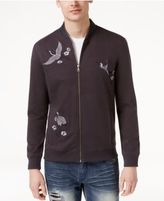 INC International Concepts Men's Embroidered Knit Jacket, Only at Macy's