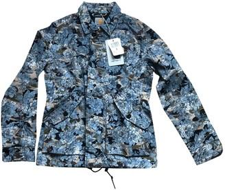 Carhartt Wip Blue Cotton Jacket for Women