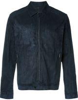Fendi leather zip jacket - men - Leather - 50