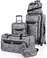 Tag Jeans Tag Springfield III Print 5 Piece Luggage Set, Only at Macy's