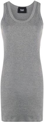 Dolce & Gabbana Rib-Knit Tank Top