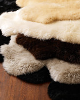 Horchow Sheepskin Rug, 4' x 6'