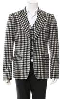 John Galliano Layered Virgin Wool Blazer