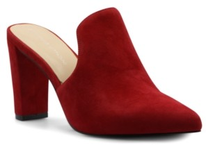 Adrienne Vittadini Nella Heeled Mules Women's Shoes