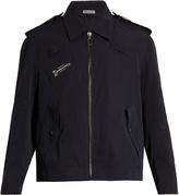 Lanvin Embroidered faille jacket