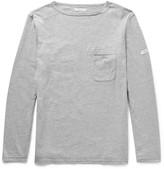 Engineered Garments Mélange Cotton-Blend Jersey T-shirt